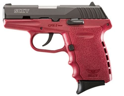 "SCCY CPX2 9MM 3.1"" 10RD NO external safety"