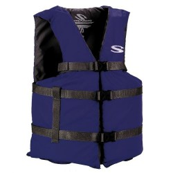 Stearns Adult Classic Boating Vest Oversized Blue