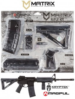 Matrix Diversified Industries MAGMIL37-TY Magpul Kit TYPHON CAMO