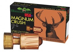 Brenneke Magnum Crush Slug Shotshells - 12 Gauge - Slug - 5 Rounds