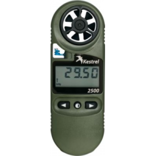 Kestrel 2500NV Weather Meter / Digital Altimeter plus NV Backlight, Olive Drab, 0825NV