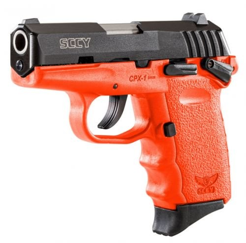 "SCCY CPX1 9MM 3.1"" 10RD Ambidextrous Safety"