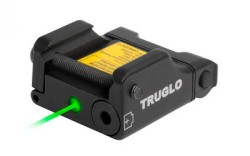 Truglo TG7630G Micro-Tac Green Green Laser Weaver/Picatinny Mount Blk