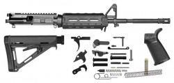 Del-Ton Rifle Kit W Lower Parts Kit M4 16-inch Black