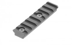 Leapers UTG Rail Section Keymod 8 Slot Black MTURS04M