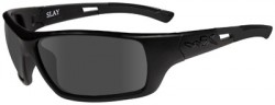 Wiley X Slay Black OPS Sunglasses - Smoke Grey Lens / Matte Black Frame ACSLA01