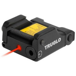 Truglo TG7630R Micro-Tac Red Red Laser Weaver/Picatinny Mount Blk