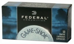 Fed Ammo .22lr (case 100boxes) 1260fps. 38gr. Hp 50rds