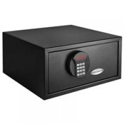 Barska Digital Keypad Safe, Black - 16.5x14.5x7.75in Exterior AX11618