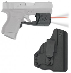 Crimson Trace Red Laser with 150 Lumen White Light for Glock, Black LL-803-HBT-G42