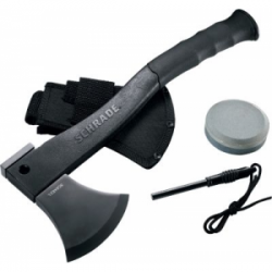 SCHRADE LARGE AXE FIRE STARTER SHARP PUCK