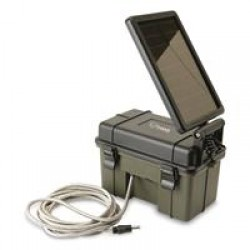 HME Trail Camera 12-Volt Battery with Solar Pack