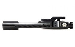 Black Rain Ordnance SPEC 15 Bolt Carrier Group Black Nitride Biohazard sign