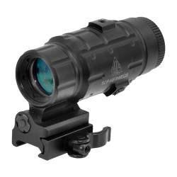UTG 3X Magnifier with Quick-Detach Mount (3X)