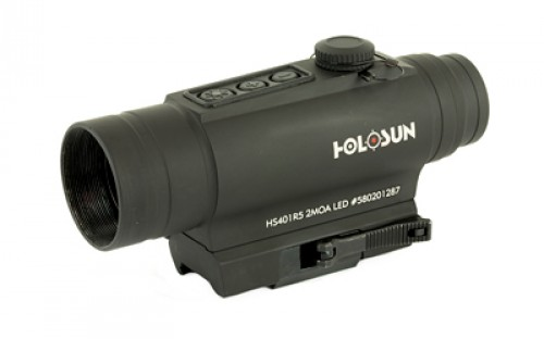 HOLOSUN 2 MOA RED DOT 30MM SIDE LASER