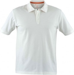 BERETTA MEN'S CORPORATE POLO WHITE SMALL
