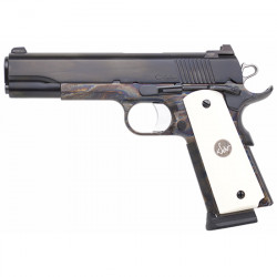 DW VALOR 45ACP COLOR CASE HARDENED BONE GRIPS