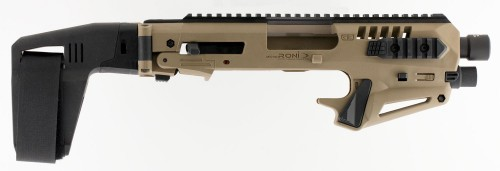CAA MICRO RONI W/STABILIZER FDE FOR GLK 17/22/31 NO NFA REQUIRED