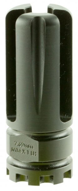 Advanced Armament Corporation BLACKOUT Non-Mount AK  Flash Hider 7.62mm  M14 x 1LH,Black
