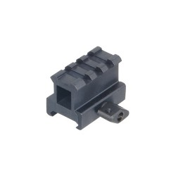 Leapers 1 inch High 3-Slot High Compact Riser