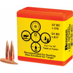 BERGER BULLETS 6MM  87GR VLD HUNTING