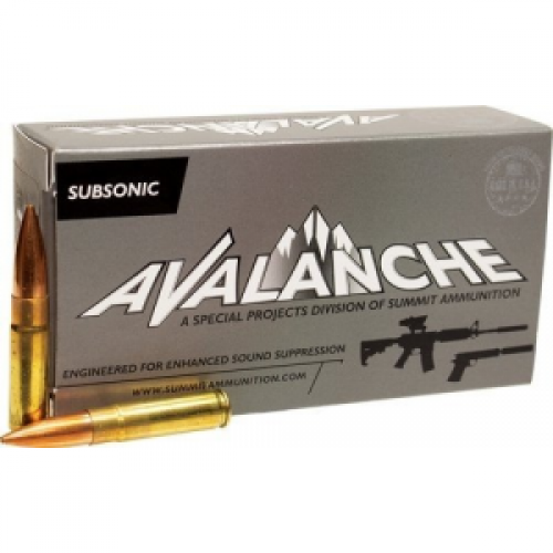 Summit Subsonic Rifle Ammunition .300 AAC Blackout 220 gr BTHP  20ct