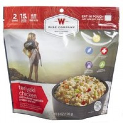 WISE CAMPING TERIYAKI CHICKEN 6PK
