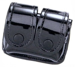 Uncle Mikes 8831-1 Speeloader Pouch Double Black