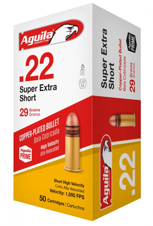 AGUILA AMO 22LR SUBSONIC SOLID POINT 40GR LEAD 50RDS