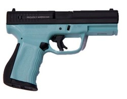 FMK Firearms 9C1 G2 Compact Black / Blue Jay 9mm 4-inch 14Rds