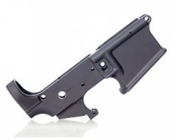 Alex Pro Firearms Stripped AR15 Lower Receiver Black LP012