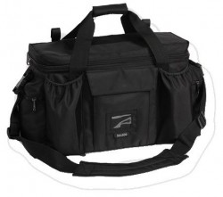 Bulldog Extra Large Deluxe Black Police & Shooters Range Bag With Strap, Black BD920