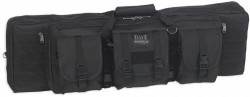 Bulldog Cases 43in Double Tactical Rifle Case, Black, BDT60-43B