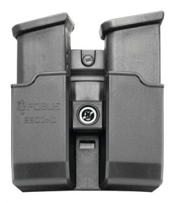 Fobus Belt Double Magazine Pouch Black .40 SW / 9mm
