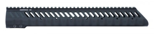 Diamondhead VRS-T Matte Black 308 Low Handguard 15-inch