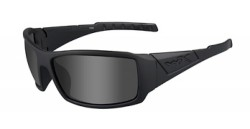 Wiley X WX Twisted Sunglasses - Polarized Smoke Grey Lens / Matte Black Lens, SSTWI08