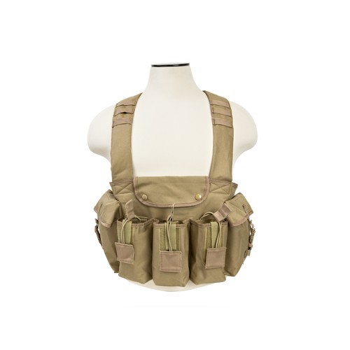 NCStar Ak Chest Rig/Tan