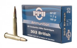 PPU 303 BRITISH SP 180GR 20/200