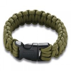 Columbia River Onion Survival Para Saw Bracelet Green Small