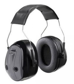 Peltor Muff H7 PTL Over-the-Head Earmuffs, Black, NRR 26dB - H7A-PTL Single