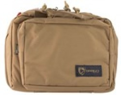 Drago Double Pistol Case Tan