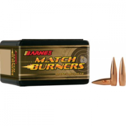 Barnes Match Burner Match Rifle Bullets