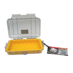 Pelican Micro Case Clear Top Yellow