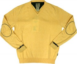 BERETTA MEN'S COUNTRY CLASSIC SWEATER SMALL YELLOW