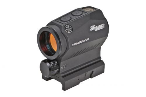 Sig Sauer Romeo 5 X Compact Red Dot Sight, 1X20 mm, 2 MOA Red Dot, 0.5 MOA Adjustable, AAA, M1913, Black