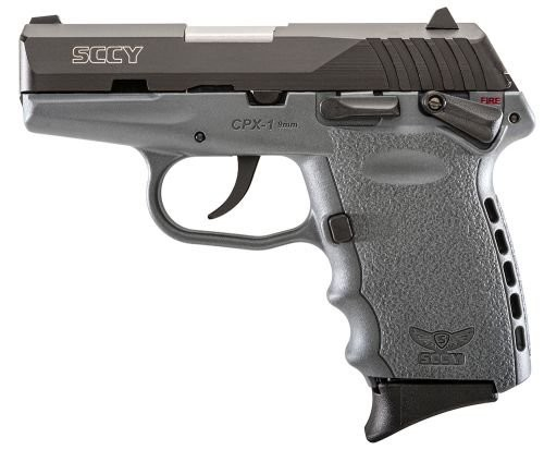 Sccy CPX-1 Black/Sniper Gray 9mm 3.1-inch 10rd Ambidextrous Safety