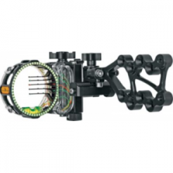 Trophy Ridge React Pro Five-Pin Right-Hand Bow Sight - Black