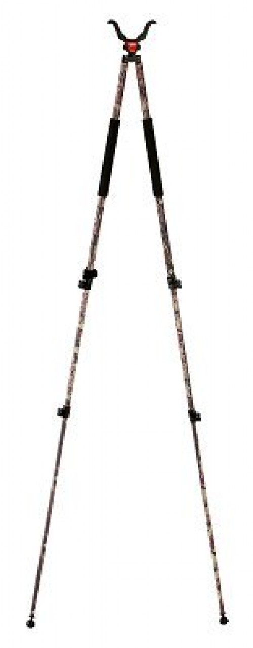 BogPod Camo Legged Devil CLD Series 3 Camo Tall Tripod, 68in Max Height 735535