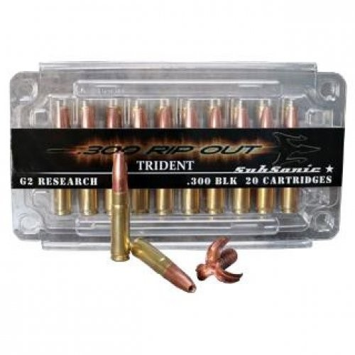G2 Research RIP-OUT 300AAC TRIDENT SUB 20 ROUNDS
