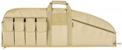 Allen Assault Rifle Case 42'' W/6-pockets Tan